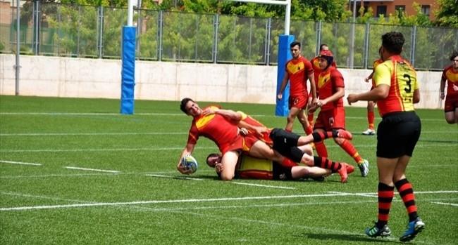 Spain 54 - 10 Belgium