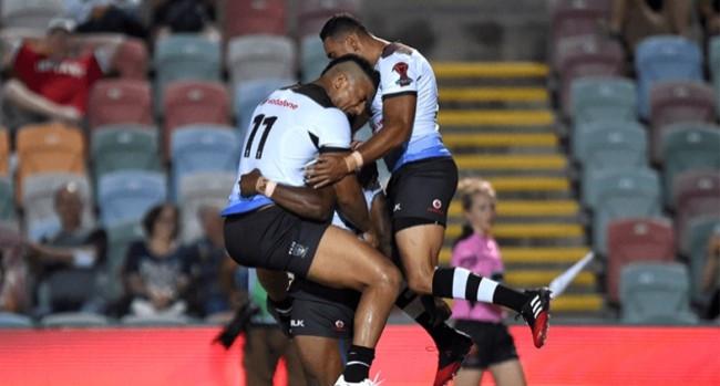 Fiji 58 - 12 United States
