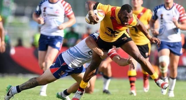 Papua New Guinea 64 - 0 United States