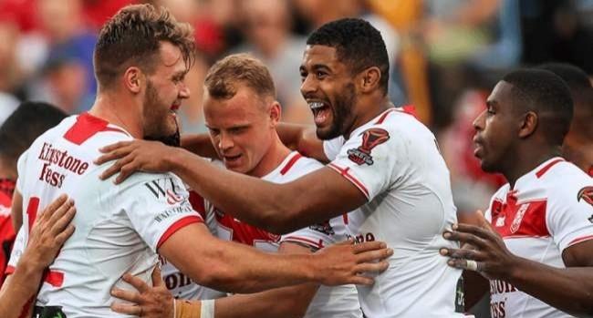 Tonga 18 - 20 England
